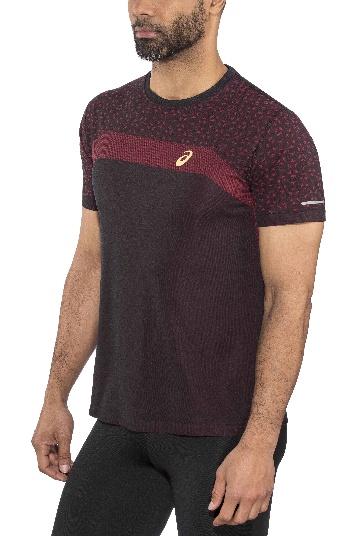 asics Seamless SS Texture Shirt Mugen Pack Men performance black